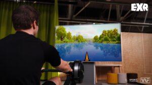 EXR salty lemon virtual indoor simulator