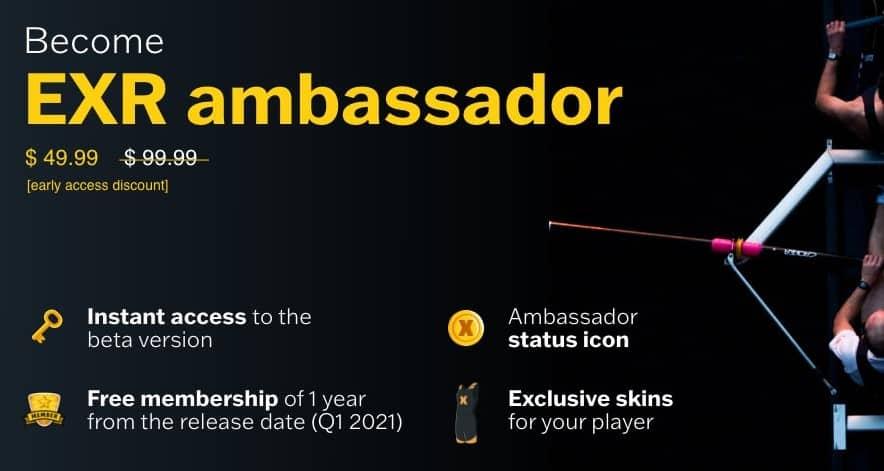 EXR ambassador salty lemon dae studios