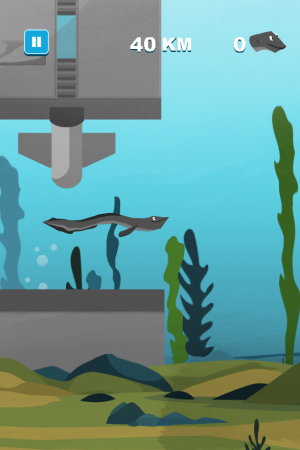 Save the Eel - Screenshot